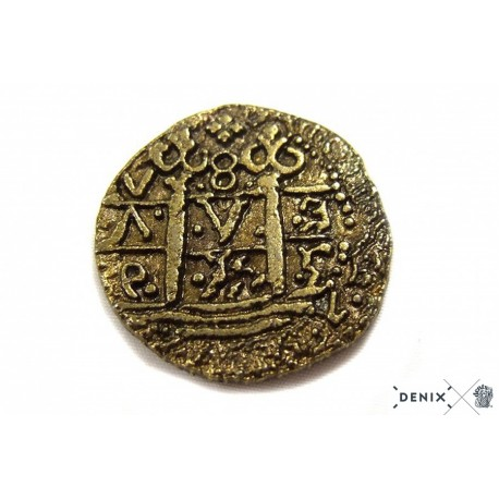 Denix 70 Gold doubloon