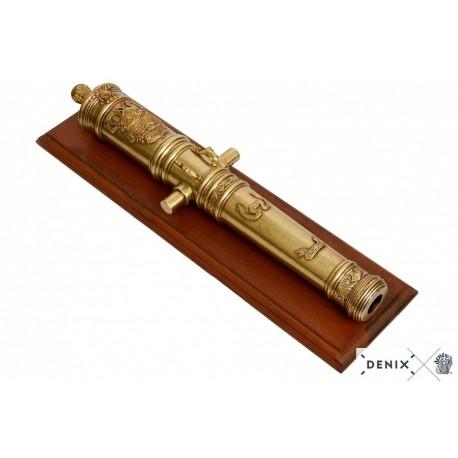 Denix 9404 Louis XIV cannon, France 18th. C.