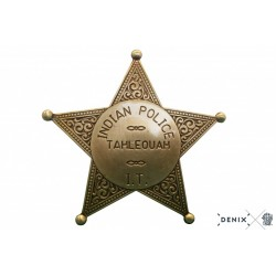 Denix 108 Indian police badge