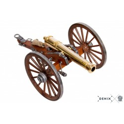 Denix 8445 Civil War cannon, USA 1857