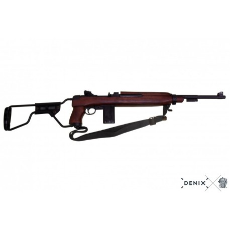 Denix 1132/C M1A1 carbine, paratrooper model, USA 1942