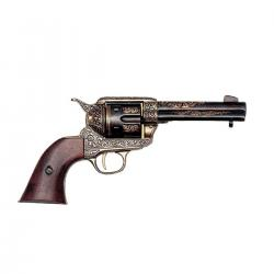 Denix M-1280/L Colt 45 Peacemaker Brass Finish Replica