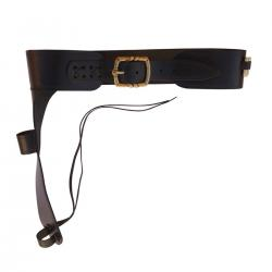 Denix 701 Leather cartridge belt for Mare's Leg rifle 15 bullets