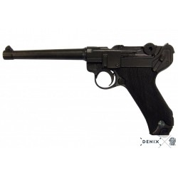 "Denix 1144 Luger P08 Parabellum 6"" pistol Germany 1898"