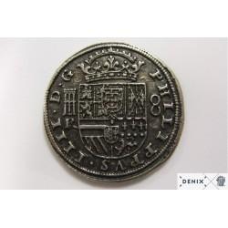Denix 72 Silver piece of eight