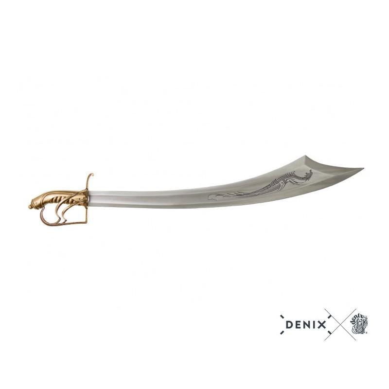 Denix 4194 Bartholomew Roberts 1682-1722 pirate sabre, Welsh 18th. C.