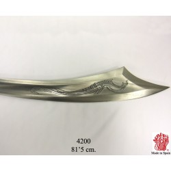 "Denix 4200 Hayreddin Barbarossa""Redbeard""1478-1546 pirate sabre,Turky 16th.C."