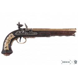 Denix 1084/L Flintlock dueling pistol, 1810