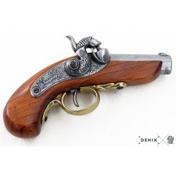 Denix 1018 Derringer pistol, USA 1850