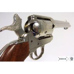 """Denix 1106/NQ Revólver Cal.45 Peacemaker 5½"""", USA 1873"""