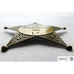 Denix 108 Indian police badge