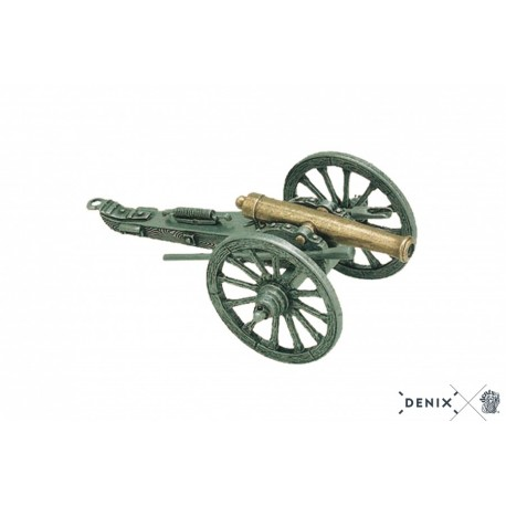 Denix 422 Civil War cannon, USA 1857