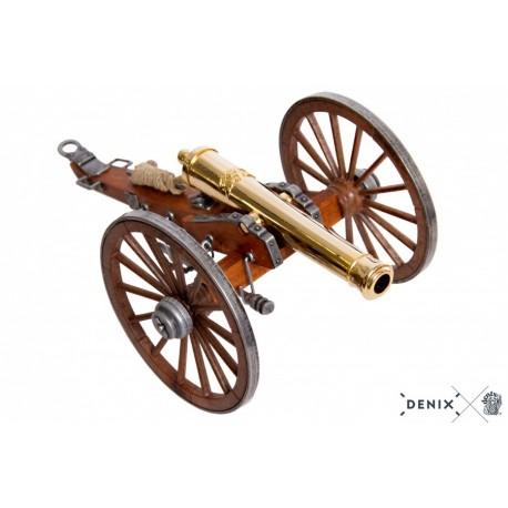 Denix 8445 Civil War cannon, USA 1857