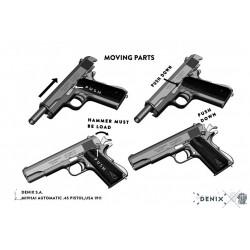 Denix 8312 M1911A1 automatic .45 pistol,USA 1911