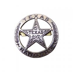 Denix 102 Texas Rangers circle star cut-out badge