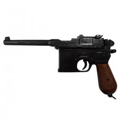 Denix M-1024 C96 pistol by Mauser With Wood Grips