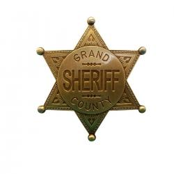 Denix 113/L Grand County Shefiff badge