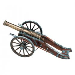 Denix 404 French cannon Louis XIV, 18th. Century