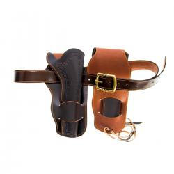 Denix 724 Double western leather holster